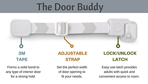 Cat Things Com Door Buddy Adjustable Door Strap Latch Easy Way To