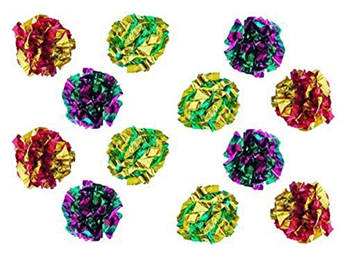 Cat Things Com Petfavorites Original Mylar Crinkle Balls